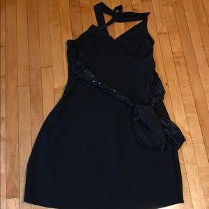 Torrid Black Halter Dress